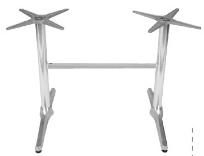 Aluminum Table Legs Size Dia.650mm For Hospitality  Contract Furniture