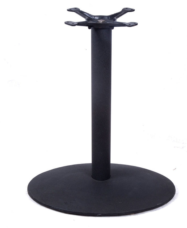 Morden Commercial Table Bases  Powder Coated Metal Table Legs For Bistro Table