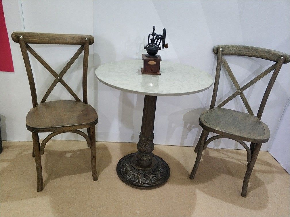 Rustic Bar Table legs  Cast Iron Antique Table base Commercial Furniture Parts